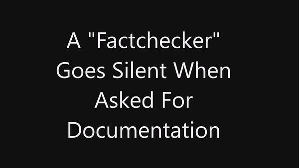 Exposing The factchecker