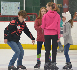 Granddaughter Emily's 10th Birthday Ice-Skating Party