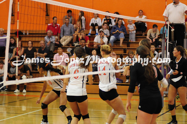 2012 Girls Volleyball 9-6