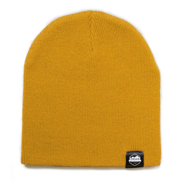 Outdoor Apparel - Organ Mountain Outfitters - Hat - 8 Inch Knit Beanie - Gold.jpg