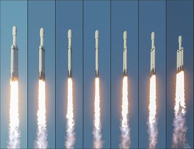 5. ArabSat6a Falcon Heavy by SpaceX 4/11/19 (gallery)