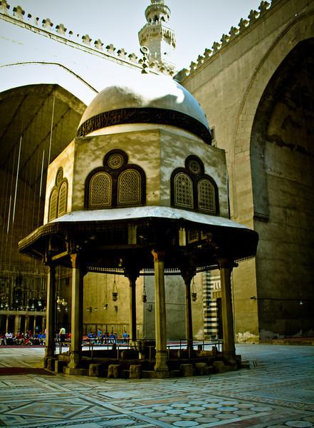Sultan Hassan Mosque Cairo 2011