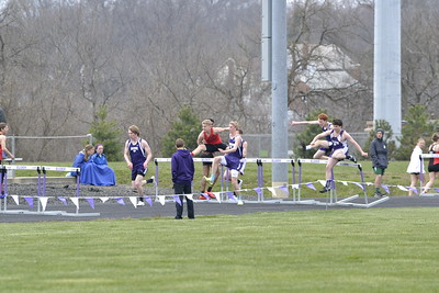 2018 JV Track and Field at Elder All Comers