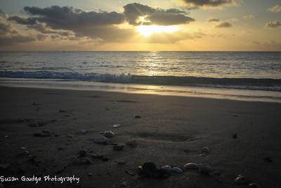 Sunny Beach Morning (after days of rain)