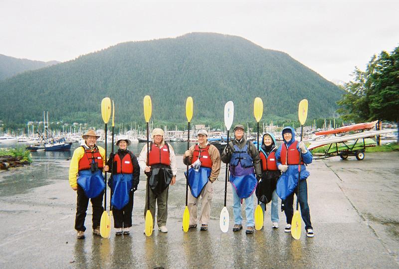 our kayak group