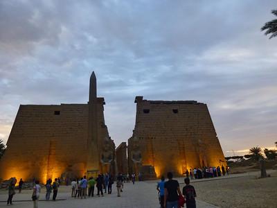 17 Luxor at Night