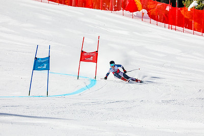 Giant Slalom -  Womens Run One