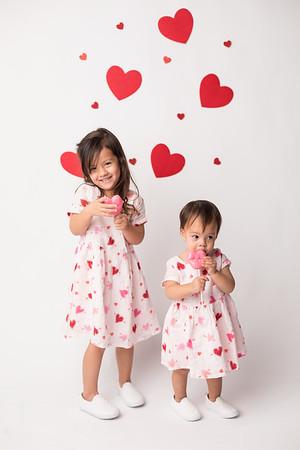 Kaycie and Kaylie's Valentine Mini