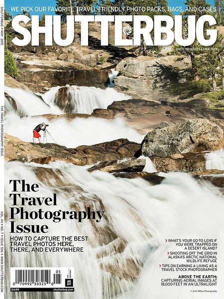 May 2015 Cover, Shutterbug Magazine