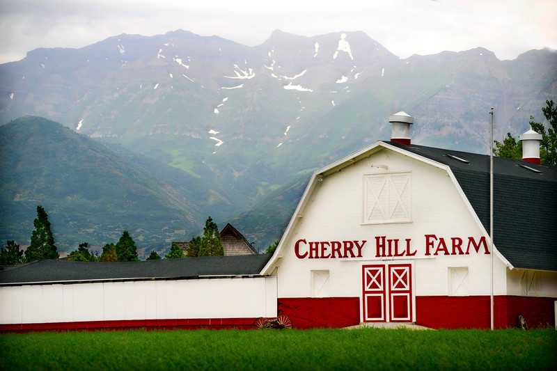 2011/8/4 – I saw this nice looking barn down on Geneva road in Orem and had to pull off the road to try and get an interesting image of it. I liked the colors against Timpanogos in the background.