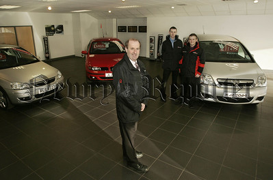 CR Morrows Used car sales team, Richard McMinn (NetworkQ Manager), Paul Kirwin (Sales Executive) and Stephen McMahon (Sales executive). 07W4N10