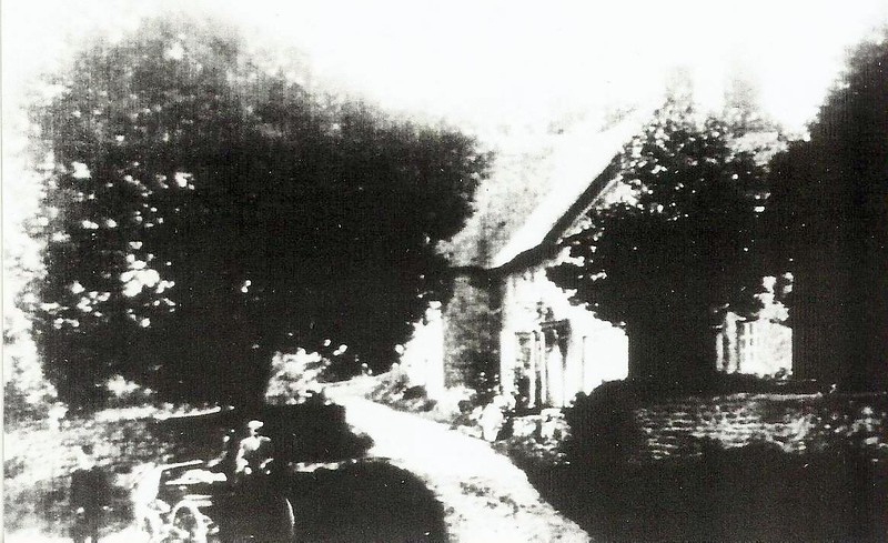 Jefferies Farmstead 1870 then part of 16th century Draycot Vicarage