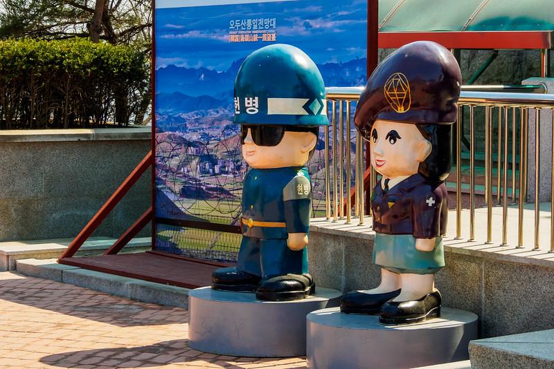 Even the DMZ has its cartoon mascots in Korea