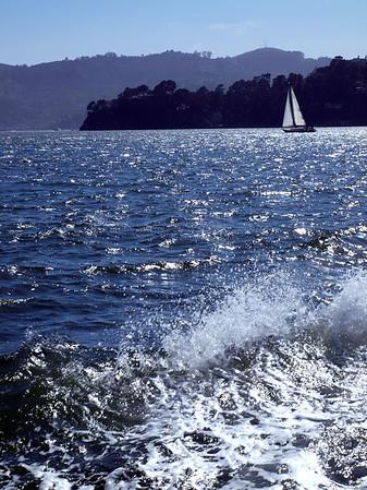 Sailboat on SF Bay