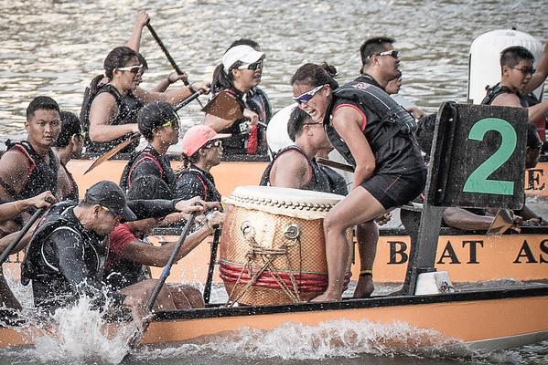 Singapore River Regatta 2017 Day 1 Finals