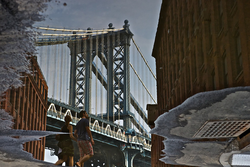 Reflection, DUMBO, Brooklyn, New York 2011