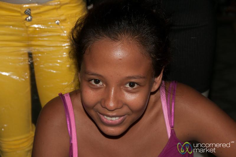 Nicaraguan Girl at the Granada Market