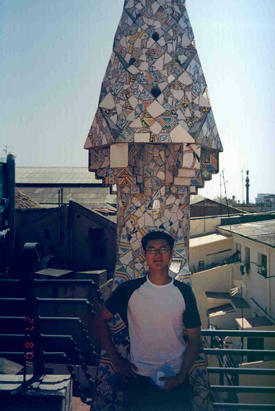 Me on top of Guell Castle.jpg