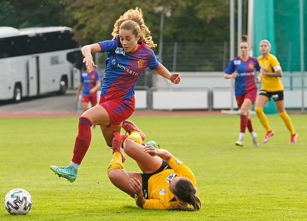 FC Basel 1893 Frauen - FC Luzern / 1:0 / 25. September 2021