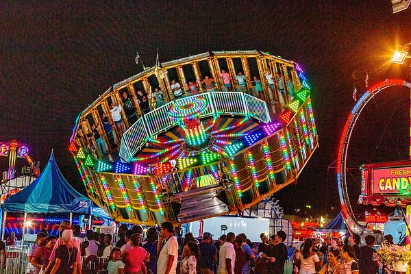 Montgomery County Fair - rides