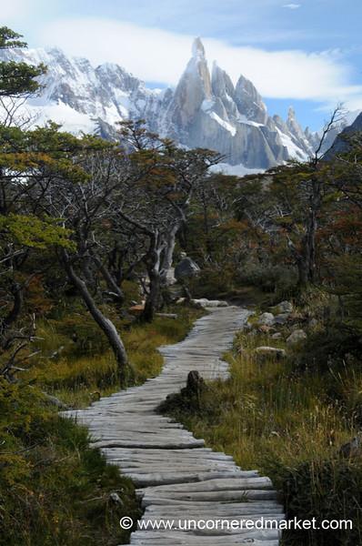 Trekking Outside El Chalten, Argentina
