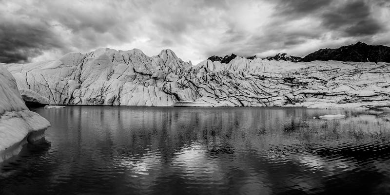 Matanuska Glacier glacial lake bw.jpg