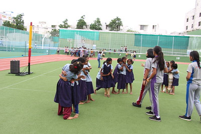 2019-08-31 Sports meet with Government School students