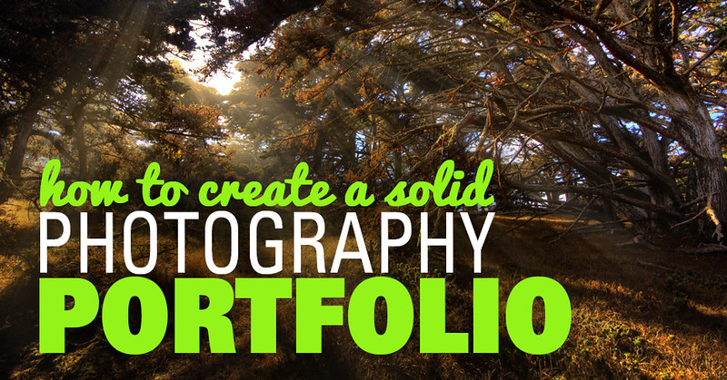 How to Create a Solid and Free Photography Portfolio