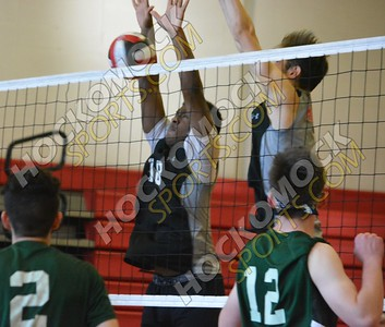 Milford - Burncoat Boys Volleyball 5-31-18