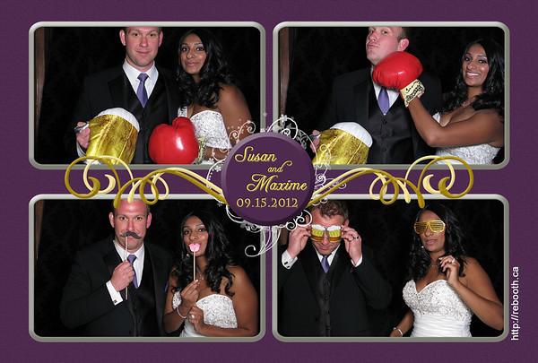 Susan & Maxime Wedding