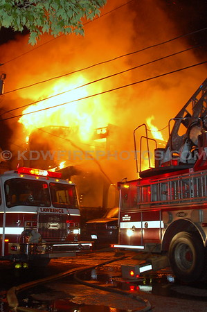 Lawrence, MA - 3rd Alarm - 67 Saunders St - 5/26/08