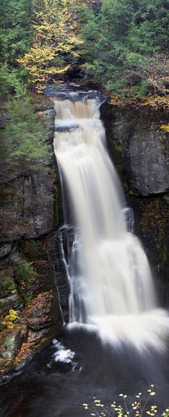 Bushkill Falls. Panoramic. Image size: 296.9 M, 6478 x 16022 at 240 p/i res.