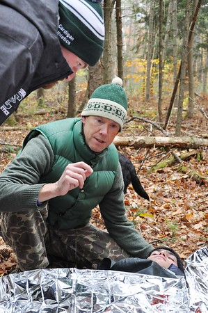Cardigan Faculty Learn Wilderness Survival Skills