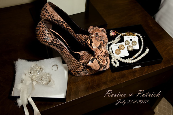 Rosine and Patrick Wedding July 21st 2012