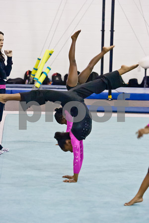 Elite Gymnastics - Jan 2012