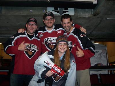 <b>2005-2007 Vancouver Giants WHL Hockey</b>