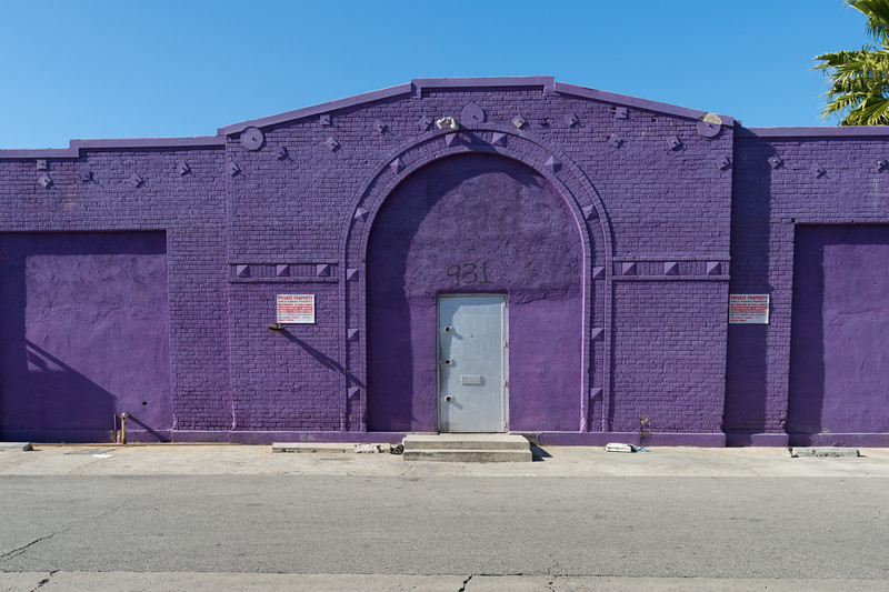 A building on 62nd Street in the South Los Angeles Industrial District.