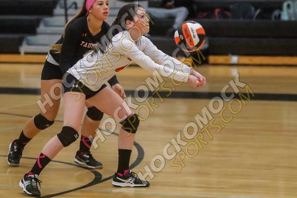 Taunton-Franklin Volleyball - 10-16-17
