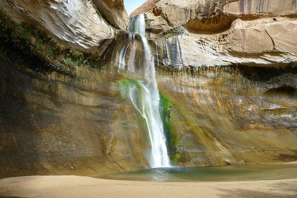 Lower Calf Creek Falls Trail Run 10.15.09 - Utah