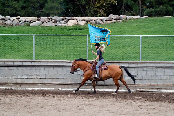 Truckee Donner Horsemen Show Practice