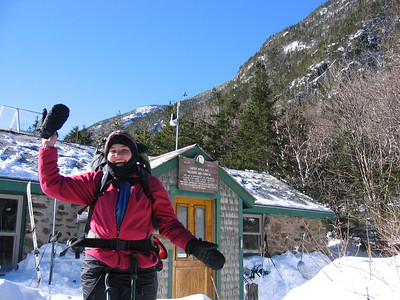 Carter Notch overnight: Feb. 26-27