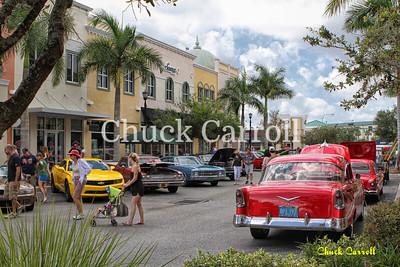Sarasota Powerboat  Grand Prix Car Show - 2013