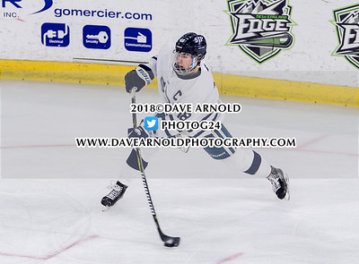 3/12/2018 - Boys Varsity Hockey - Pope Francis vs St. John's Prep