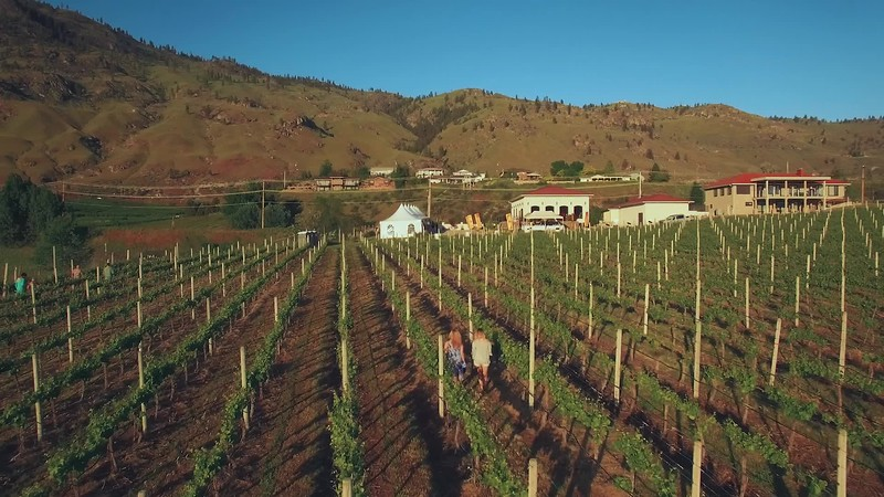 Oliver Osoyoos Wine Country - scenic aerials