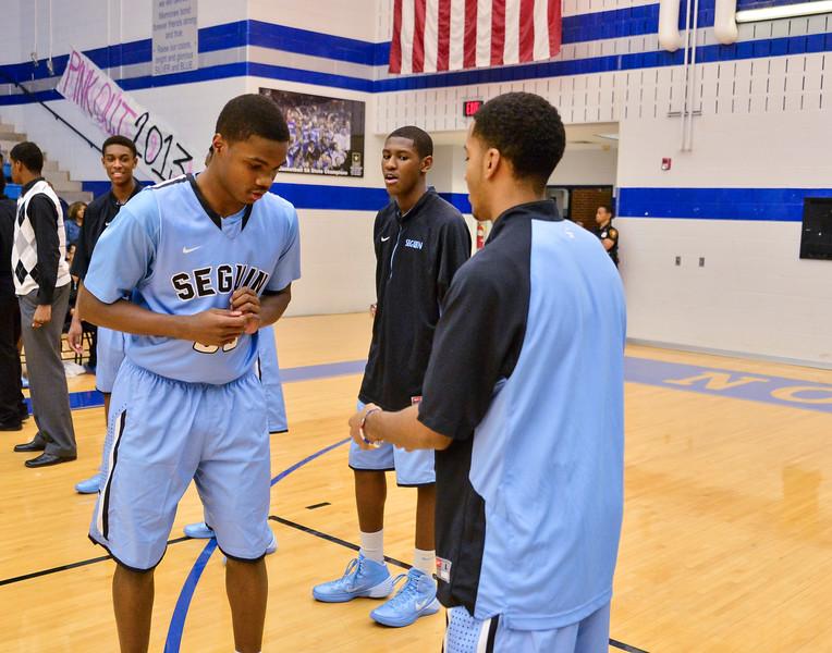 Basketball Varsity vs  Mansfield Seguin 11-11-13-7