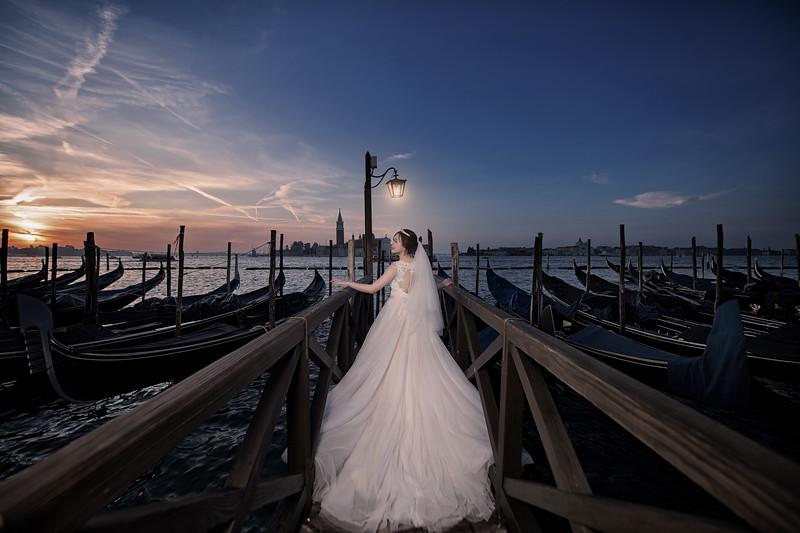 巴黎、布拉格、布達佩斯、威尼斯 海外婚紗