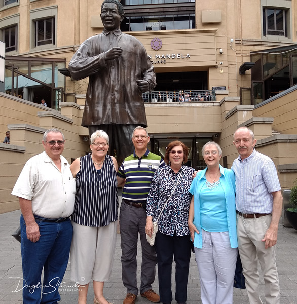 Doug and Louise with Ruth's Uncles and Aunts