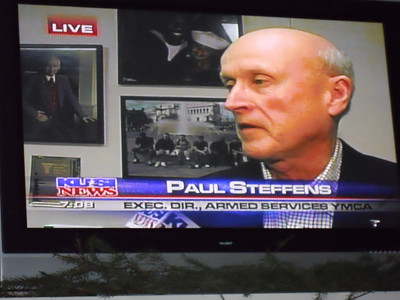 What the ASYMCA does in time of War. 12.2.09 KUSI News