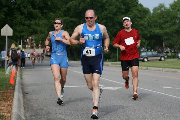 2008 Foothills Sprint Triathlon (run)
