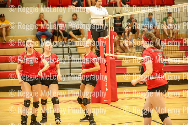 RHS Volleyball Bearcat Brawl 9-15-18